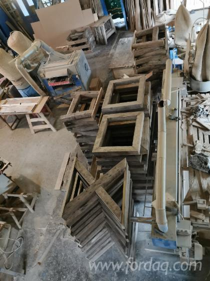 Europejskie Drewno Liściaste, Drewno Lite Z Innymi Materiałami Wykończeniowymi, Dąb