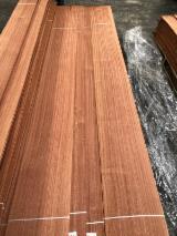 Sapelli/Sapele Natural Veneer (Flat Cut, Plain), 0.50 mm