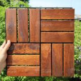Acacia Garden Wood Deck Tiles, 19 & 24 mm