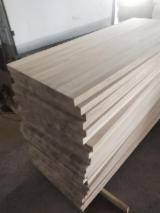 Solid Oak Continuous Panels (China), 40 mm