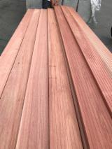 Interested in KD Dark Red Meranti Strips, 20x140 mm