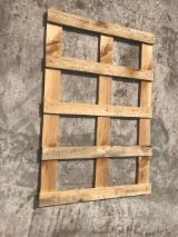 New Pallets And Packaging - New Pine One-Way Pallet, 800x1200 mm
