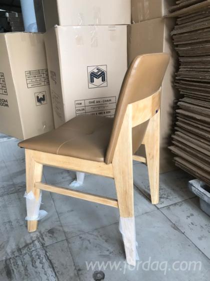 Rubberwood Restaurant Chairs - Design Style