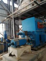 Used MDF Double Press Whole Production Line, 2013