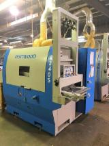 KENTWOOD Woodworking Machinery - Used Kentwood R 340S-1M Gang Rip Saw with Roller/Slat Feed, 2015