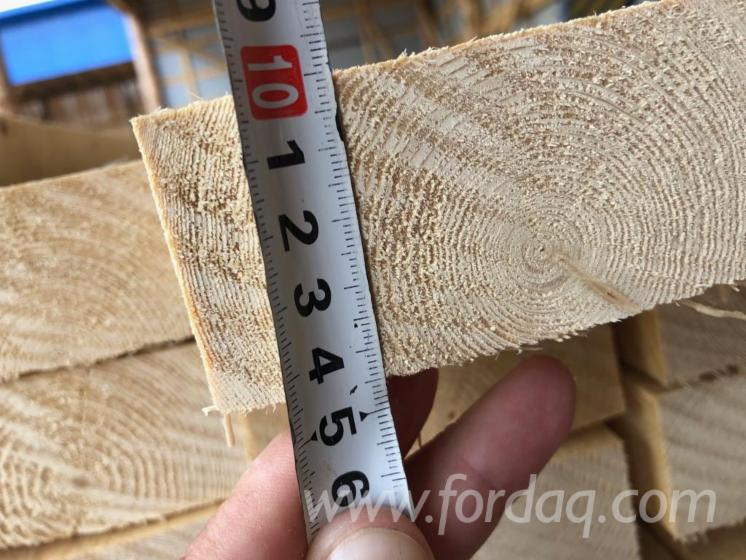 KD Spruce Sawn Lumber, 44 mm