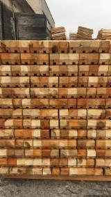 Spruce Sawn Timber - Softwood Packaging Lumber, 60-110 mm