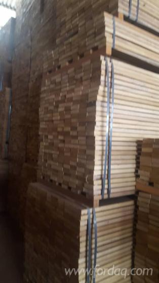 AD/KD Afrormosia Short Strips (Flooring), 25x75 mm