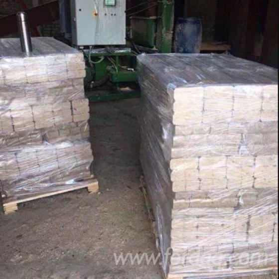 Gewerblicher Handel Buche, Birke Holzbriketts Ukraine