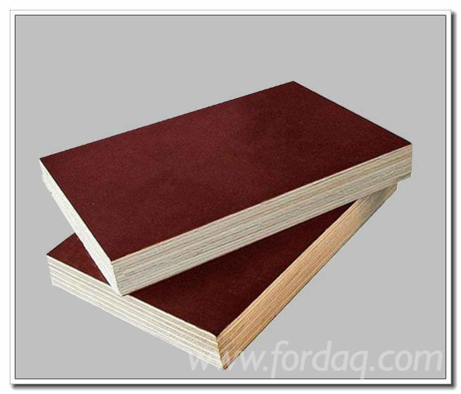 Marine-grade-waterproof-film-faced-plywood-poplar-core-with-FSC