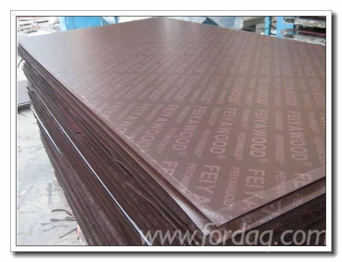 Vend Contreplaqué Filmé (Brun) 7 - 40 mm Chine