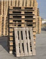 Offer New/Used Siberian Fir/Pine Euro Pallets, 800x1200 mm