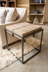 Birch/Eucalyptus/Walnut Modern Designed Wooden Table