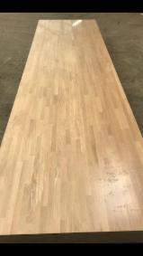 Solid Wood Panels - FSC Oak Glued Solid Wood Panels, 1200-4200 mm