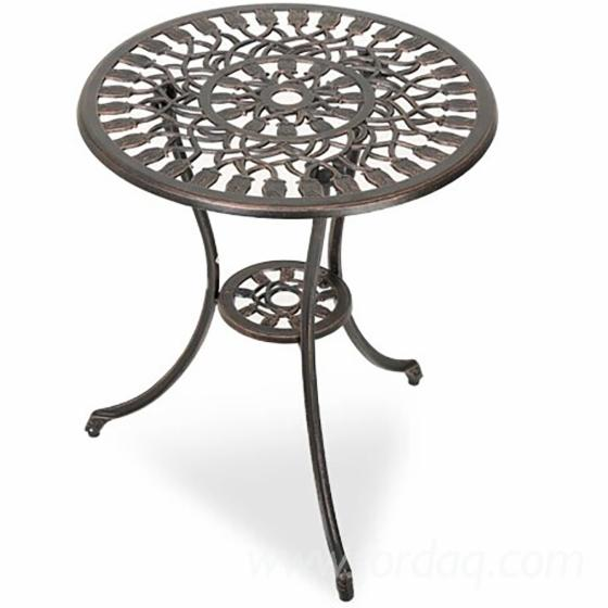 High-Quality-Cast-Aluminum-Square-Table-Patio-Dining-Furniture