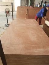Bintangor/Okoumé/Birch Face Commercial Plywood, 2-25 mm