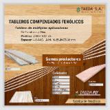 Taeda Pine AB/B; B/C+ Fancy (Decorative) Plywood Argentina