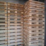 New/Used Pine Euro Pallets, 800x1200 mm