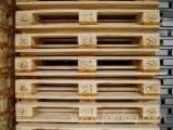 New/Used Spruce Euro Pallets with Certificate, 150 mm (H)