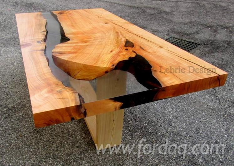 Epoxy Resin and Wood Tables - Design Style