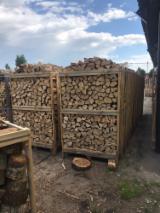 Oak/White Ash Firewood Cleaved, 25-35 cm