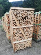 Find best timber supplies on Fordaq - Tez  - KD Oak/Beech/Birch Cleaved Firewood for Sale
