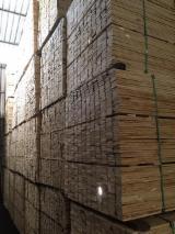 Embalagens de madeira Pinheiro Elliotis Forno Seco (KD) À Venda