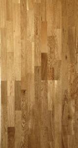 3-Strips Oak Wood Flooring, ABC, 14/15 mm