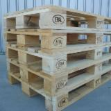 Used/New Euro Pine Wood Pallets, 800x1200 mm