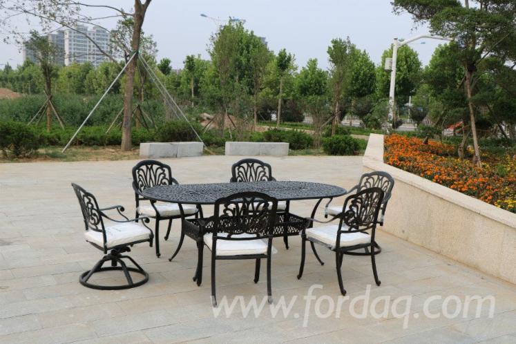 Vender Conjuntos Para Jardim Tradicional Outros Materiais Alumínio China