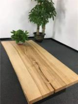 American Ash Live Edge Table Top with Live Edge - 40x850x1800 mm