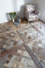 Antique Oak/Elm/Walnut Wood Flooring, 16+ mm