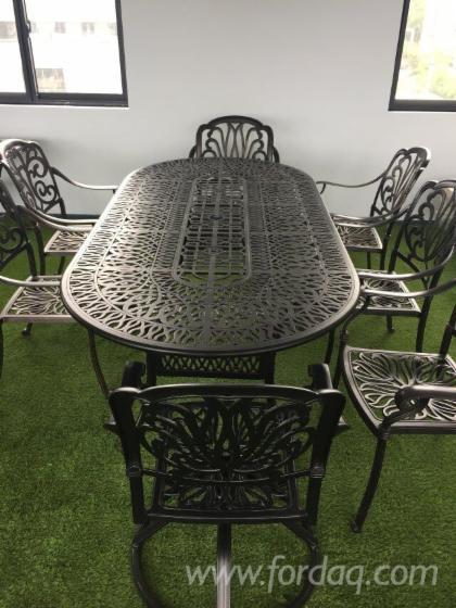 Vendo-Tavoli-Da-Giardino-Tradizionale-Altri-Materiali