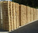 New Spruce Pallets, 140x800x1200 mm