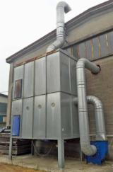 IMAS Woodworking Machinery - Used Imas Maxmatic 12 Dust Extraction Facility - 2005