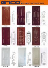 Natural Wood Veneer HDF Door Skin Panels, 2.5-4.2 mm