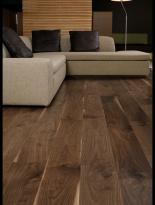null - 13 mm Black Walnut Parquet Glued Board Poland