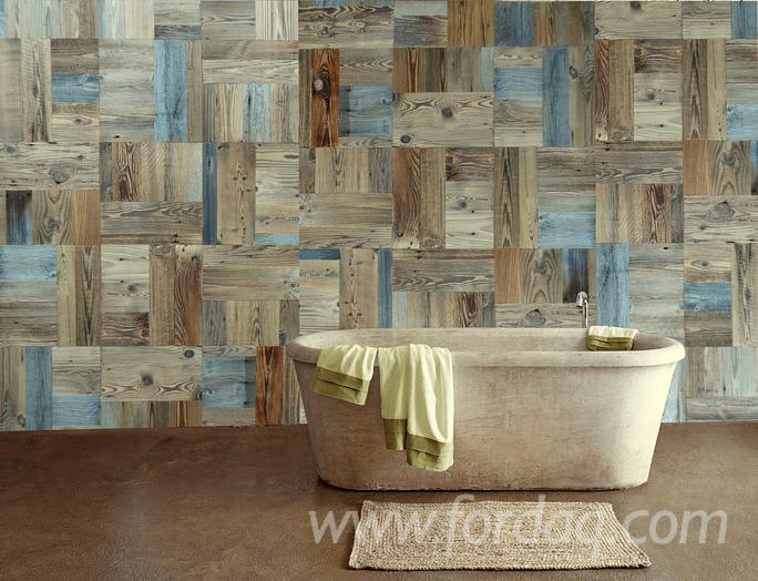 Fir-mosaic-old-wood-for-caldding-and