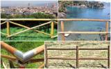 Vender Portões Madeira Maciça Européia Itália