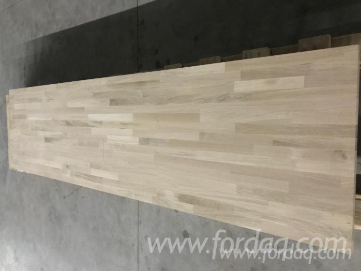 1-Schicht-Massivholzplatten--Buche