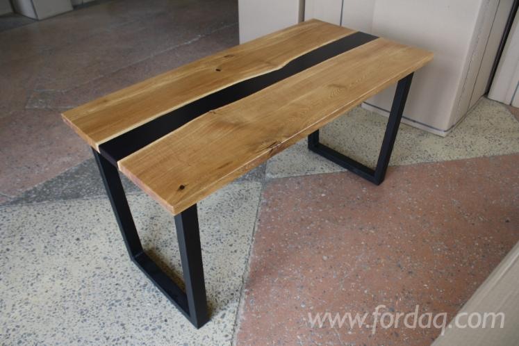 Oak Dining Tables (Design Style), 750x1400 mm