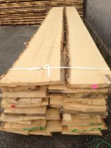 Hardwood  Unedged Timber - Flitches - Boules White Ash - KD White Ash Loose, 2.10-4.00 m