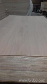Natural Plywood (Keruing Face), 5-20 mm