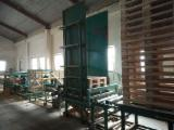 Woodworking Machinery - Used Vector Pallet Production Line, 2007
