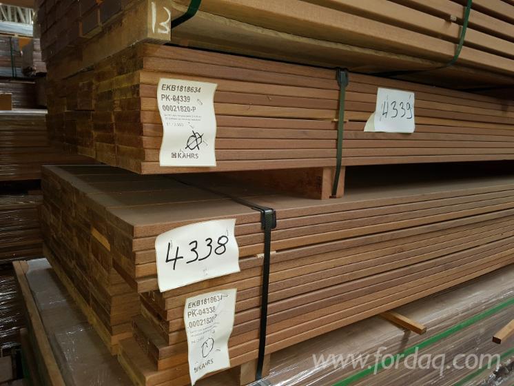 Vendo Decking (Profilato 4 Lati) FSC Ipe Germania
