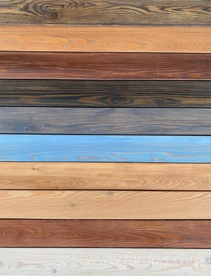 Modrzew Syberyjski deski elewacyjne w grubości 20 ; 24 i 27mm