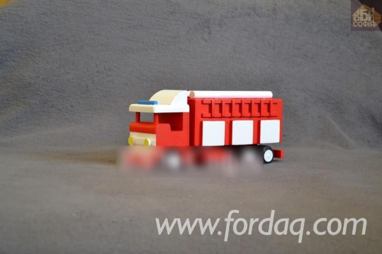 Pine Truck Toy, 26x8x11 cm