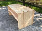 Modern Scandinavian Pine Garden Set, FSC