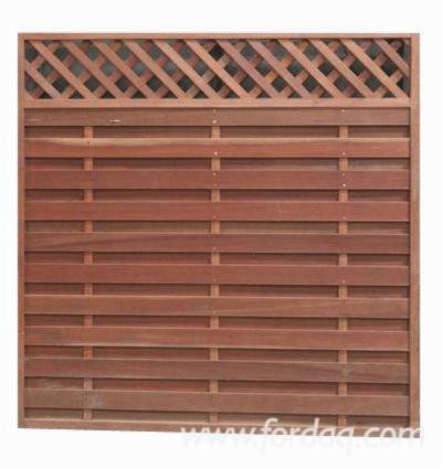 Bangkirai (Yellow Balau) Fence Frames