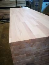 Beech B/C Quality Finger-Jointed Panels, 18-40 mm